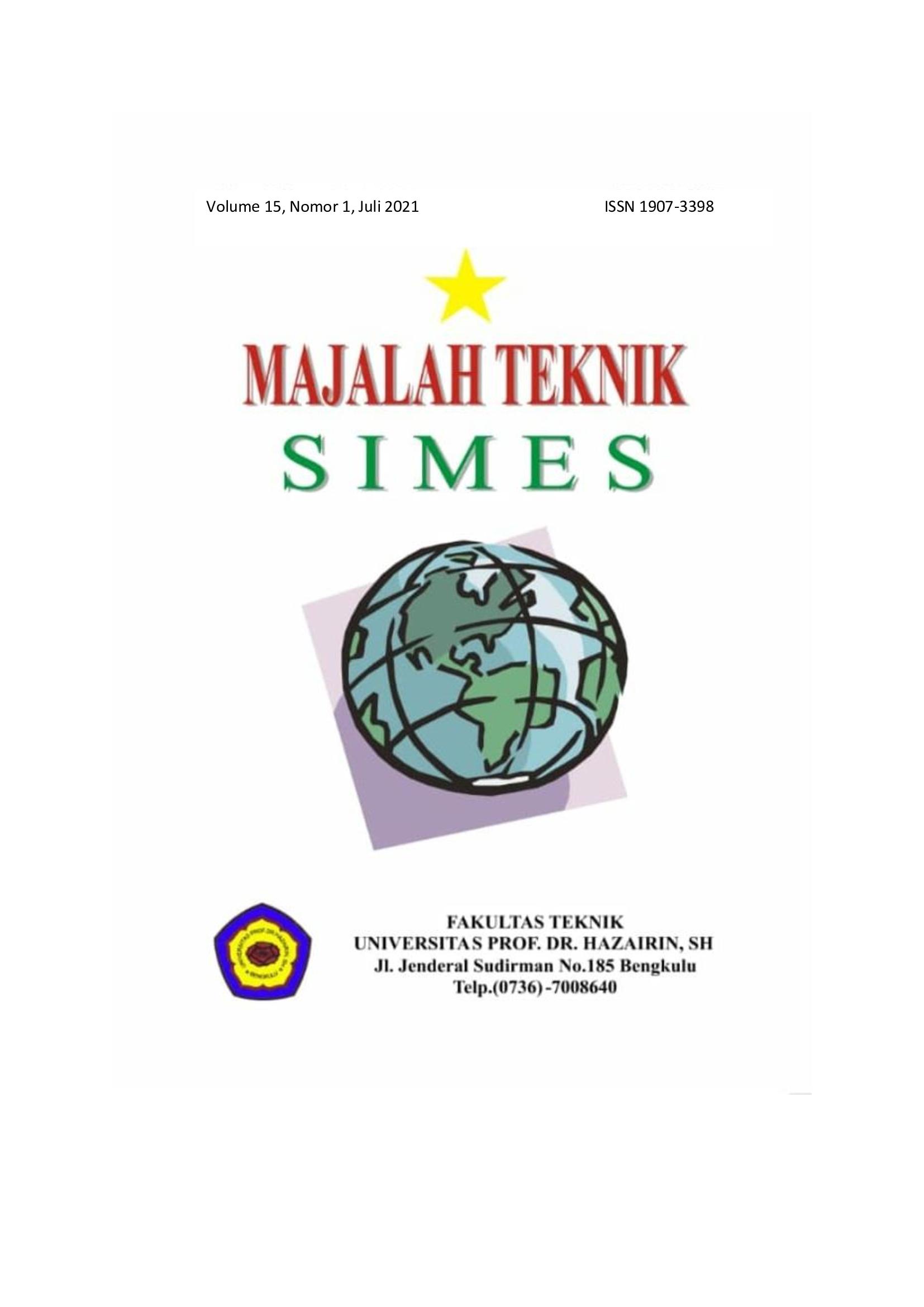 Majalah Simes Volume 15 Nomor 2, Juli 2021