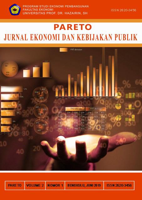 PARETO : Jurnal Ekonomi dan Kebijakan Publik
